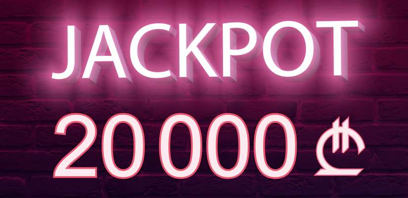 20000 GEL in Guaranteed Time Jackpots Every Week on Slots