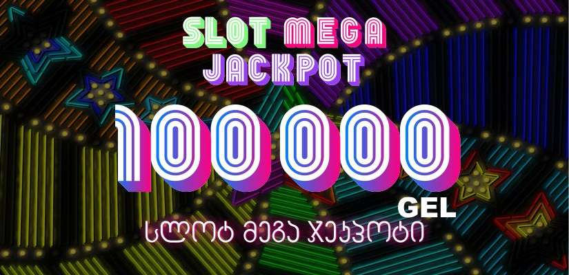 100000 GEL Slot Mega Jackpot is now running at Shangri La Casino Tbilisi